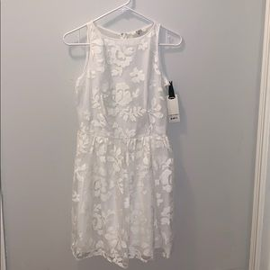 BB Dakota white dress